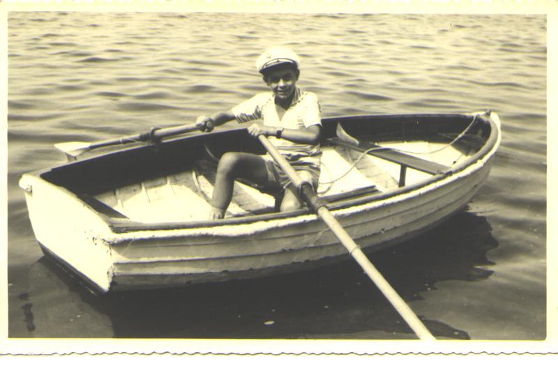 Elena Guarnati al porto di Bardolino