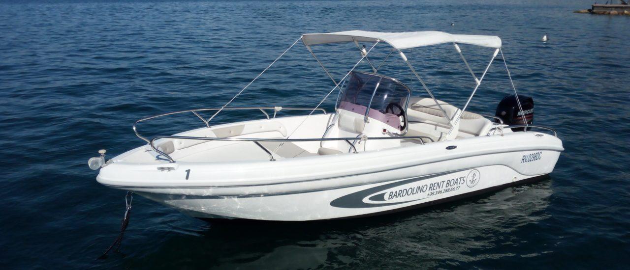 Noleggio barche motoscafi bardolino