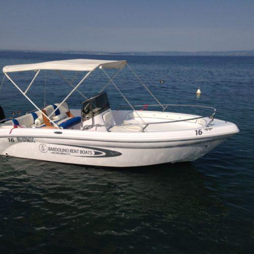 Noleggio barche motoscafi lago di garda